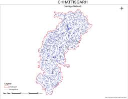 India River Map by Chhattisgarh Rivers Profile Sandrp