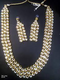 indian bridal necklace sets images Indian wedding bridal necklace set traditional kundan jpg