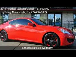 hyundai genesis coupe sale 2011 hyundai genesis coupe 2 0t premium auto for sale in g