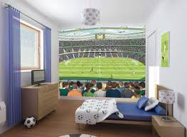 Teenager Vanity Gorgeous Football Room Decoration For Teenager And Blue Bedroom