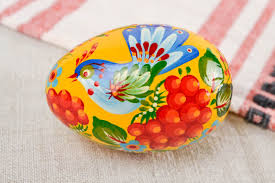 painted wooden easter eggs madeheart handmade painted easter egg wooden egg room