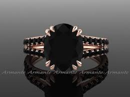 black black gold engagement rings best 25 black engagement ideas on black