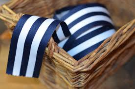 navy blue and white striped ribbon accessories navy and white grosgrain striped ribbon 2271579