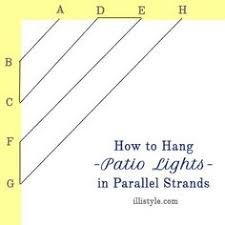 how to plan and hang patio lights patio string lights patio