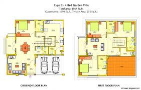 contemporary floor plan floor plan plans and designs beautiful kerala design