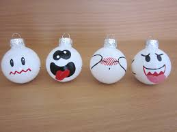 mario boo ghost ornament set of 4 projet verre pinterest