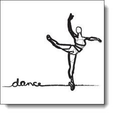 ballet dancer sketch art in motion series 1 txcowboydancer
