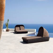 Outdoor Wicker Patio Furniture Round Canopy Bed Daybed - outdoor furniture bed furniture