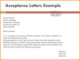 8 company acceptance letter quote templates