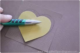 Heart Map Diy Heart Map Art Living Well Spending Less