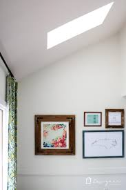 skylight reveal our fifth walls are done designer trapped
