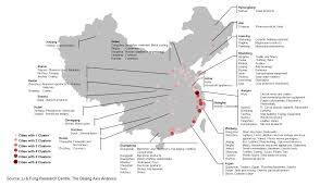 Chongqing China Map by Map China U0027s Top 100 Industrial Clusters The China Sourcing Blog