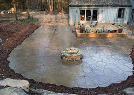Images Of Concrete Patios What Exactly Are Stamped Concrete Patios