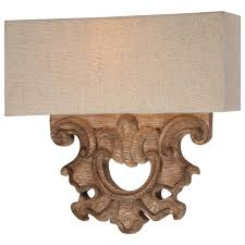 Two Light Wall Sconce Minka Lavery Abbott Place 2 Light Classic Oak Patina Sconce 5200