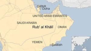 rub al khali map explorer recreates 1930s bertram desert trek