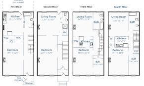 brownstone floor plans the 26 best brownstone home plans home building plans 78099