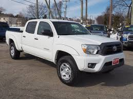 toyota tacoma crew cab used toyota tacoma cab v6 2014 for sale in dover nh ut1032