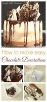 best 25 chocolate decorations ideas only on pinterest edible