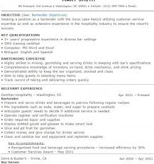exles of bartender resumes sle resume for waitress or bartender 28 images waitress resume