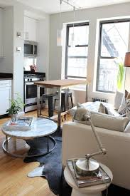 400 Sq Ft Studio Apartment Ideas A Serene 380 Square Foot Hell U0027s Kitchen Home Living Rooms