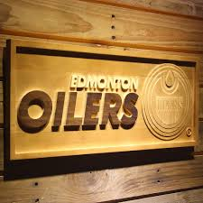 3d wood edmonton oilers 3d wooden sign bongroup