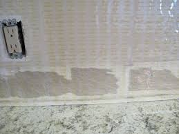 my first tile job a backsplash purple chocolat home
