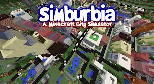 How To Use Minecraft Maps Simburbia City Simulator Like Sim City For Minecraft No Mods