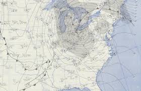 United States Storm Map by The Great Appalachian Storm Of 1950