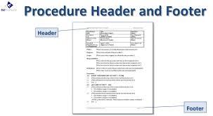 doc 585580 procedure manual template free u2013 sample procedure