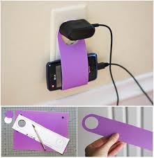 diy phone charger how to diy easy cardboard cell phone charging holder
