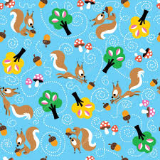 squirrel wrapping paper squirrel pattern stock vector aliasching 58658719