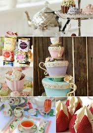 afternoon tea wedding reception ideas for summer weddingelation