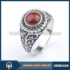 red stones rings images 2016 hot indian mens antique silver rings red stones buy antique jpg