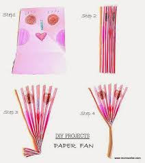 how to make a fan out of paper summer activities for kids diy paper fan momscribe