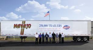 utility trailer manufacturing builds its 250 000th reefer in