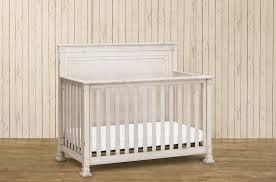 nelson 4 1 convertible crib w toddler rail distressed white