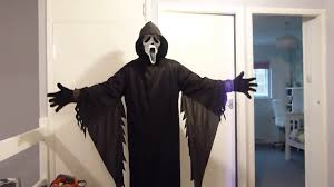 scream halloween mask scream costume youtube