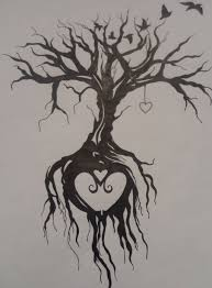 70 nice sketches tree of life tattoos drawings golfian com