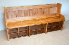 Diy Bench With Storage Garden Storage Bench Seat Home Outdoor Decoration