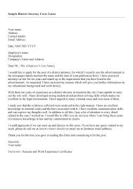 brilliant ideas of district attorney cover letter in example