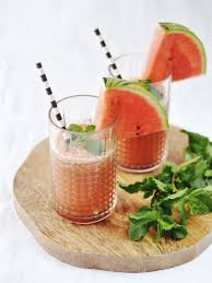 zomerse watermeloen limonade 88 food recipes pinterest