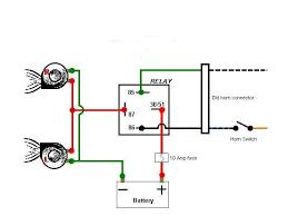 aux horn wiring 101