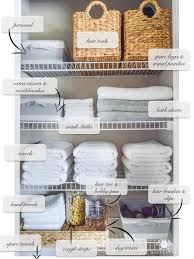 bathroom closet shelving ideas organized bathroom linen closet anyone can medicine storage