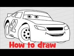 draw cars 3 characters weathers step step easy kids