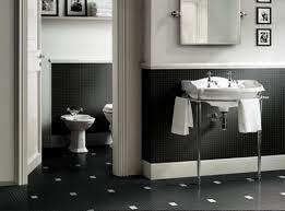 black and white tile bathroom ideas medium size of modern