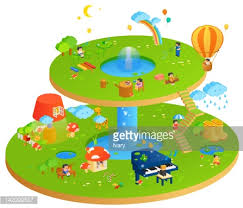 recreational activity in holidays stock illustration getty images