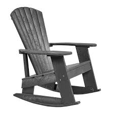 Patio Rocking Chair Captiva Adirondack Patio Rocking Chair