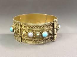 silver gold plated bracelet images Handmade oriental silver gold plated bracelet 835 silver gold jpg