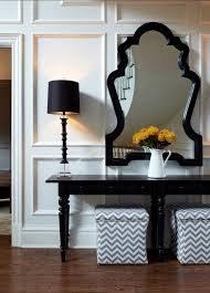 Entrance Console Table Furniture Coffee Table Corner Console Table Entryway Table Black