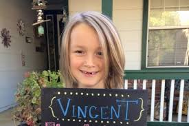 7 year old boy hair a 7 year old boy who grew out his hair for cancer patients now has